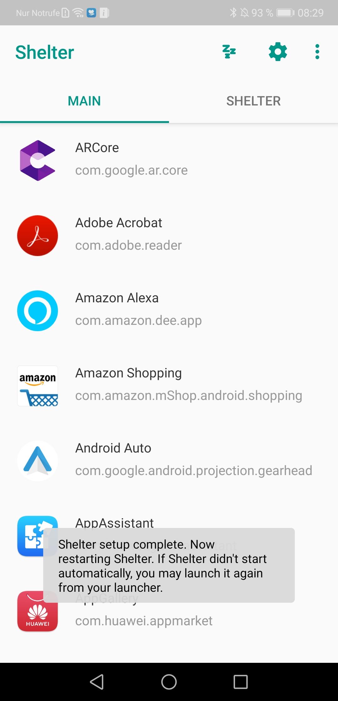 Shelter: Android Enterprise Work Profile ohne MDM System nutzen – auch für Privatpersonen interessant