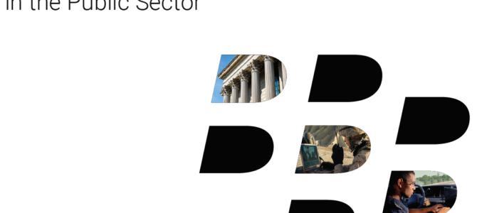 BlackBerry E-Book: Sicherung des Enterprise of Things (EOT) im öffentlichen Sektor