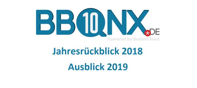 Jahresrückblick 2018 – Ausblick 2019