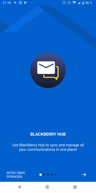 BlackBerry Android Apps im Redesign werden verteilt – teilweise kein Call und SMS Log
