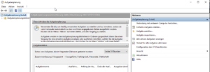 Windows Aufgabenplanung 1